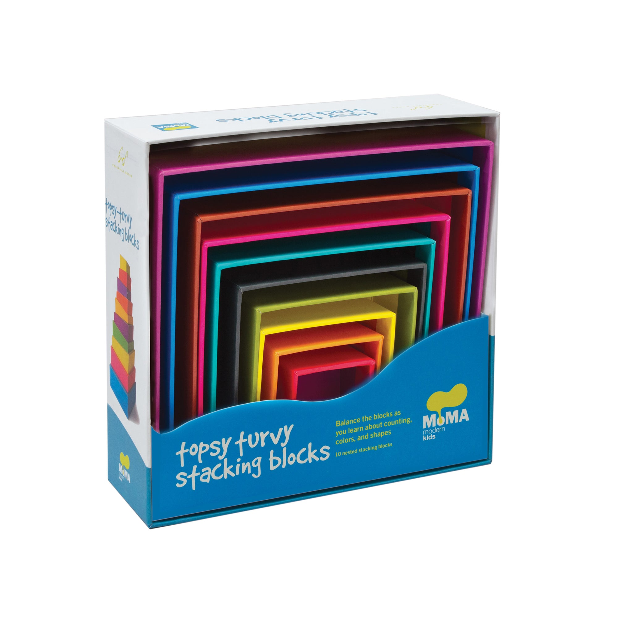 Topsy Turvy Stacking Blocks | Getty Store