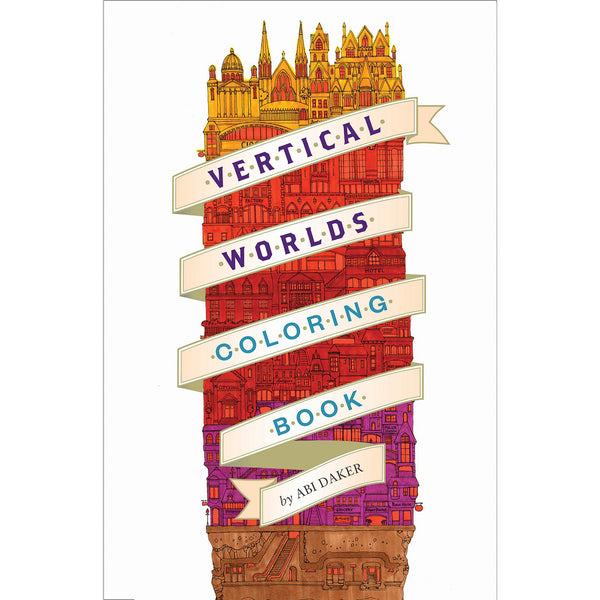 Vertical Worlds Coloring Book
