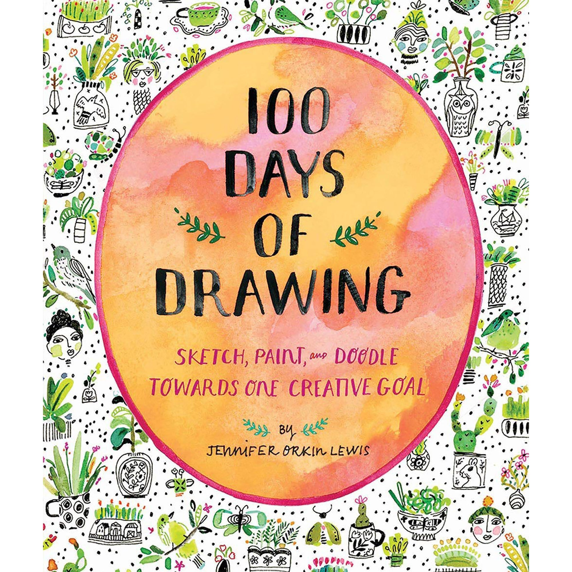 100 Days of Drawing: Sketch, Paint, and Doodle Towards One Creative Goal | Getty Store