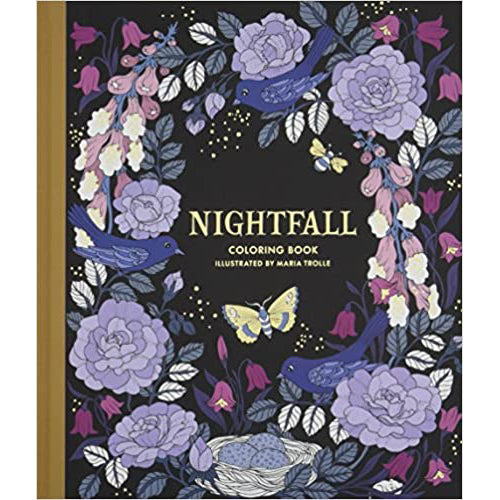 Nightfall Coloring Book | Getty Store