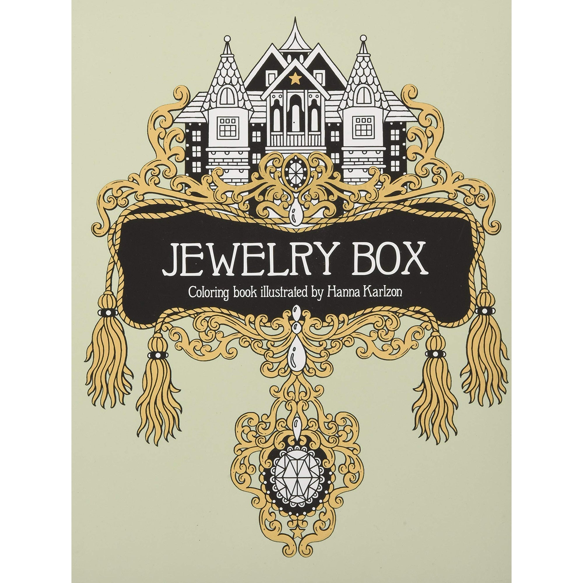 Jewelry Box Coloring Book | Getty Store