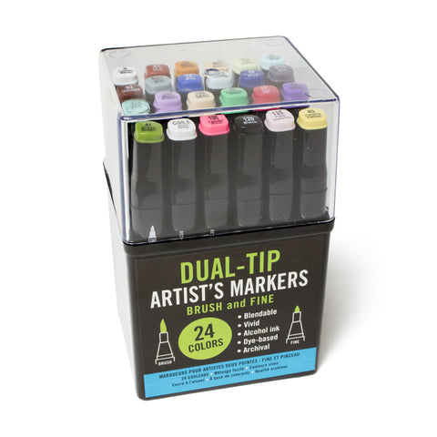 Studio Series Dual-Tip Professional Artist's Markers