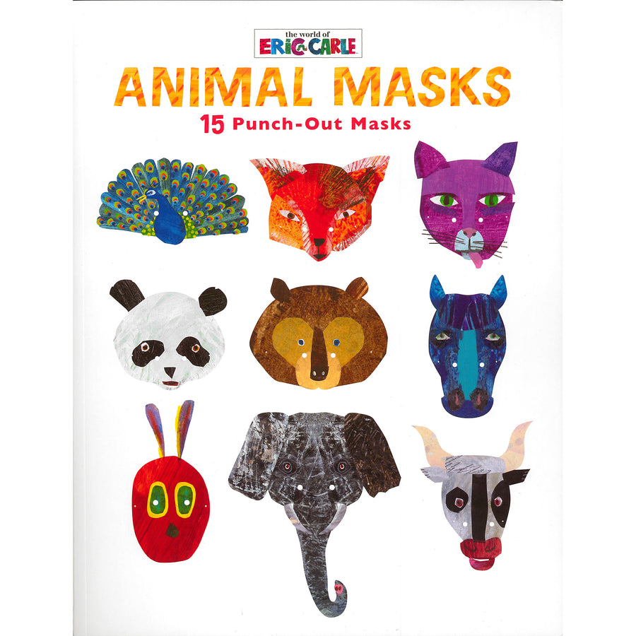 Animal Masks: 15 Punch-Out Masks