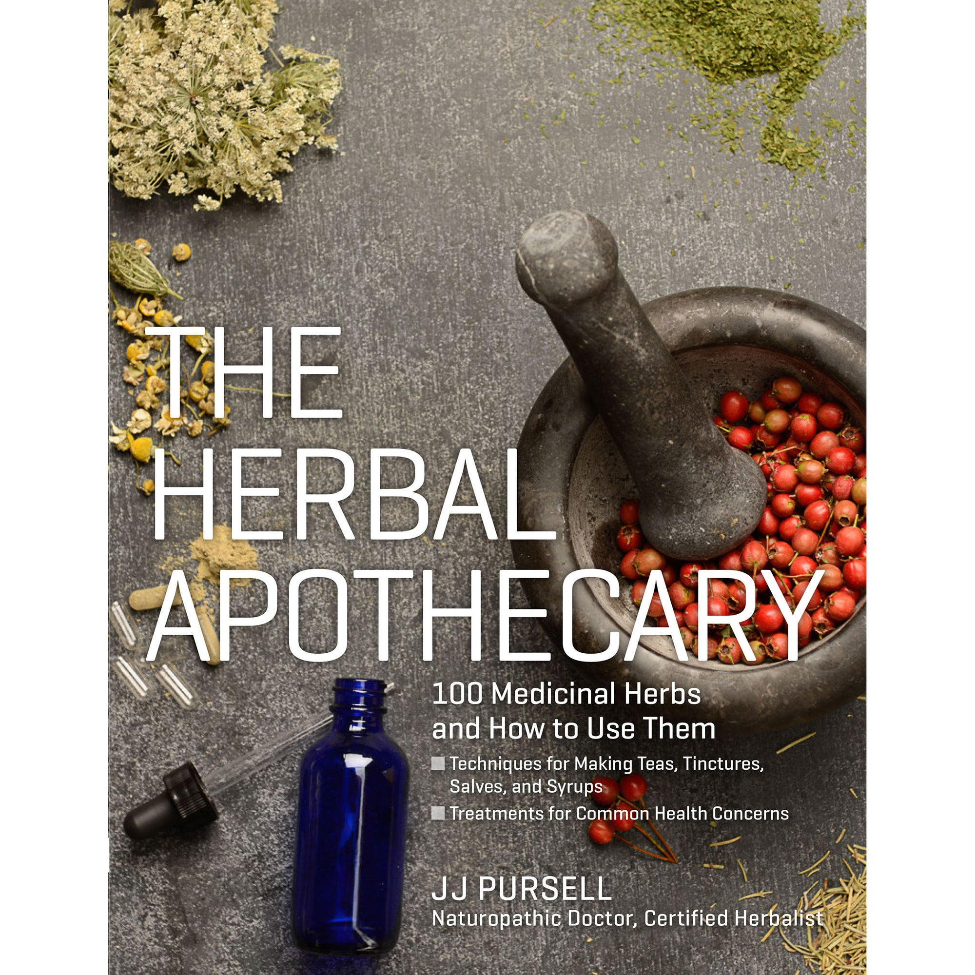 The Herbal Apothecary: 100 Medicinal Herbs and How to Use Them | Getty Store