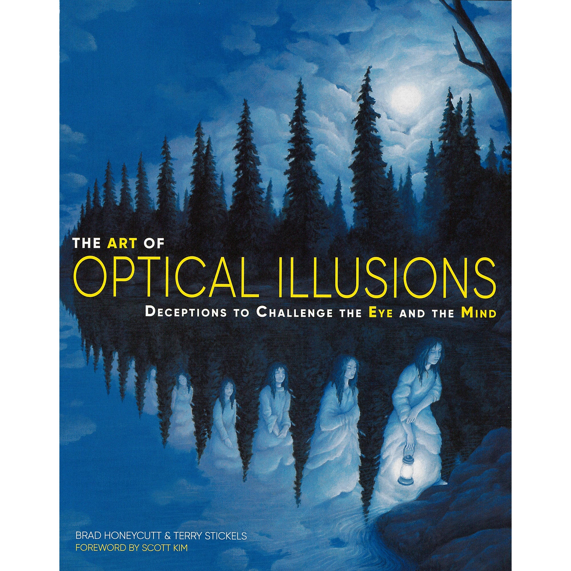 The Art of Optical Illusions book cover