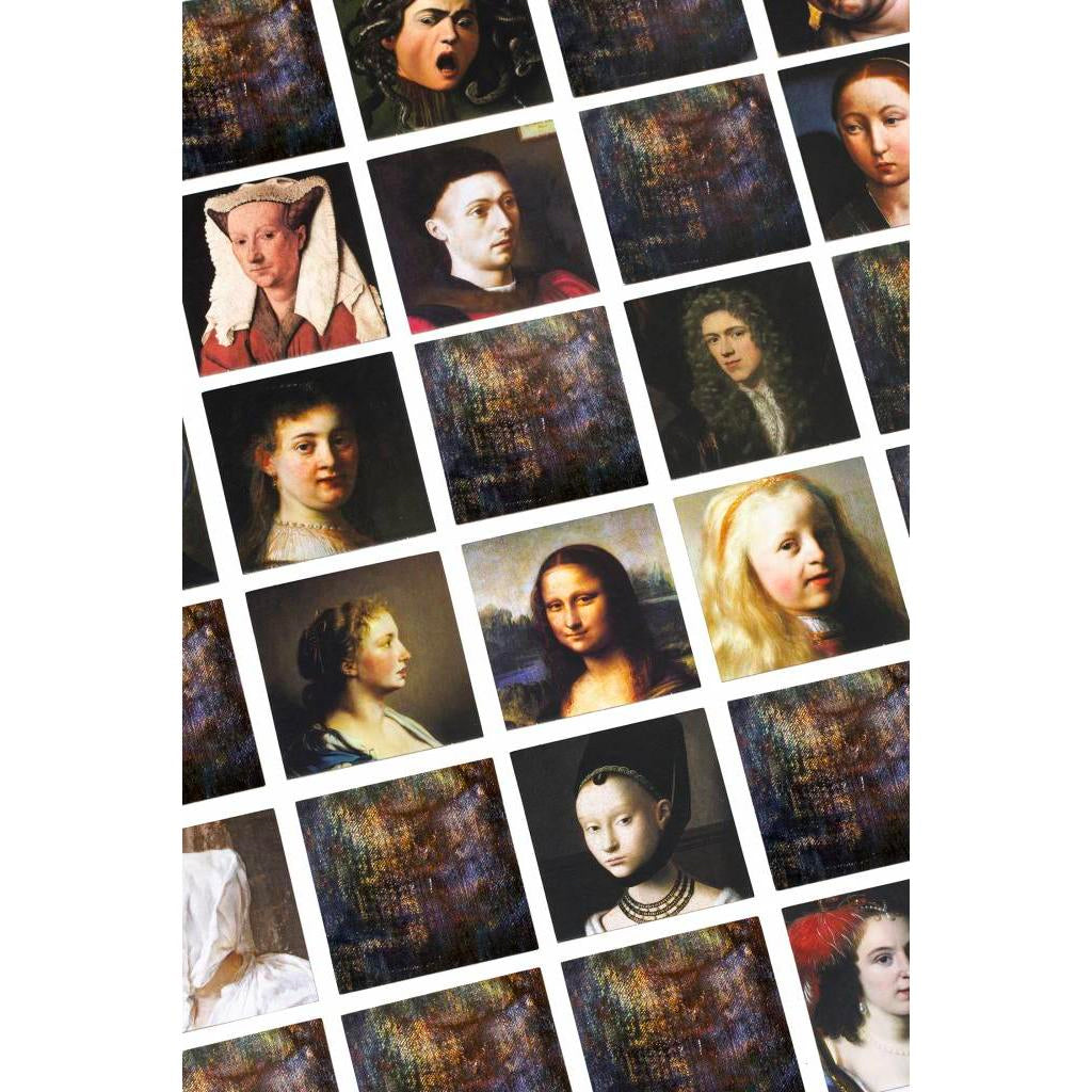Old Masters Memory Game | Getty Store