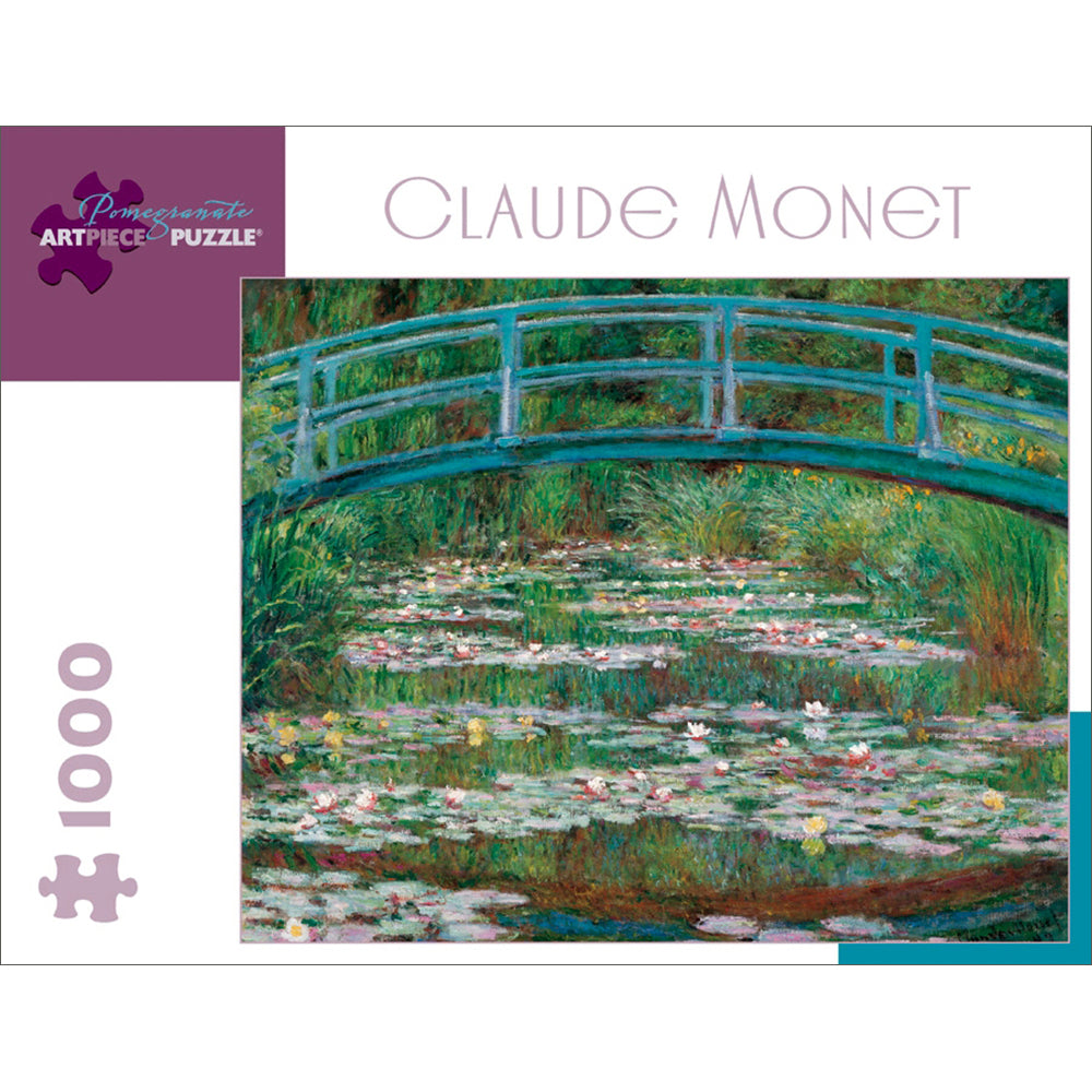 Monet's The Japanese Footbridge Puzzle - 1,000 Pieces
