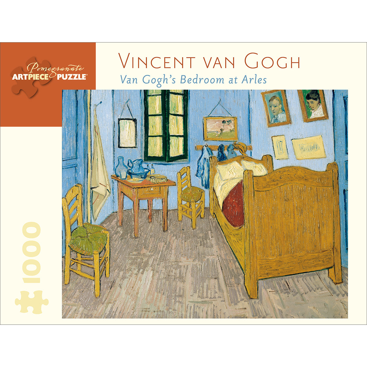 Van Gogh's Bedroom at Arles Puzzle- 1,000 Pieces | Getty Store