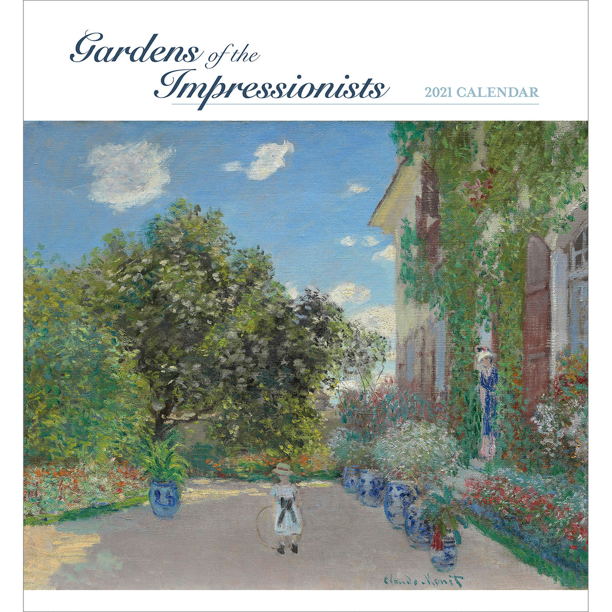 2021 Wall Calendar - Gardens of the Impressionists