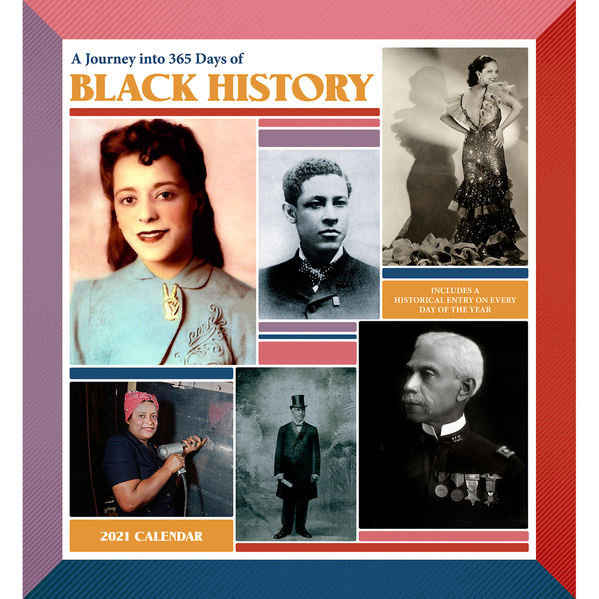 2021 Wall Calendar - A Journey into 365 Days of Black History