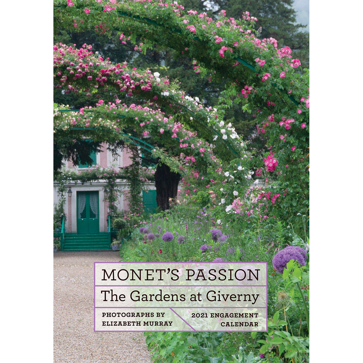 2021 Engagement Calendar - Monet's Passion: The Gardens at Giverny