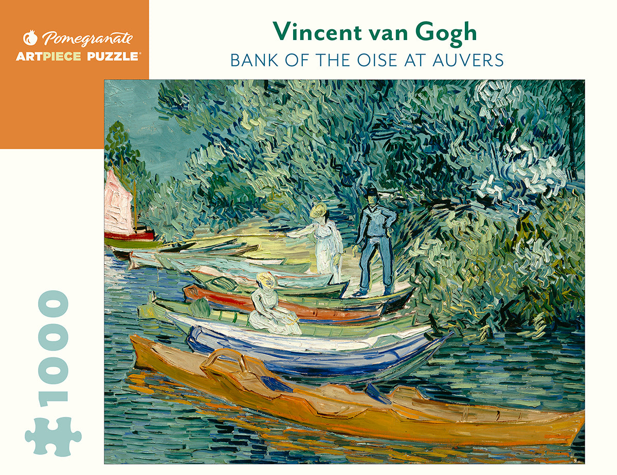Van Gogh's Banks of the Oise at Auvers Puzzle - 1,000 Pieces