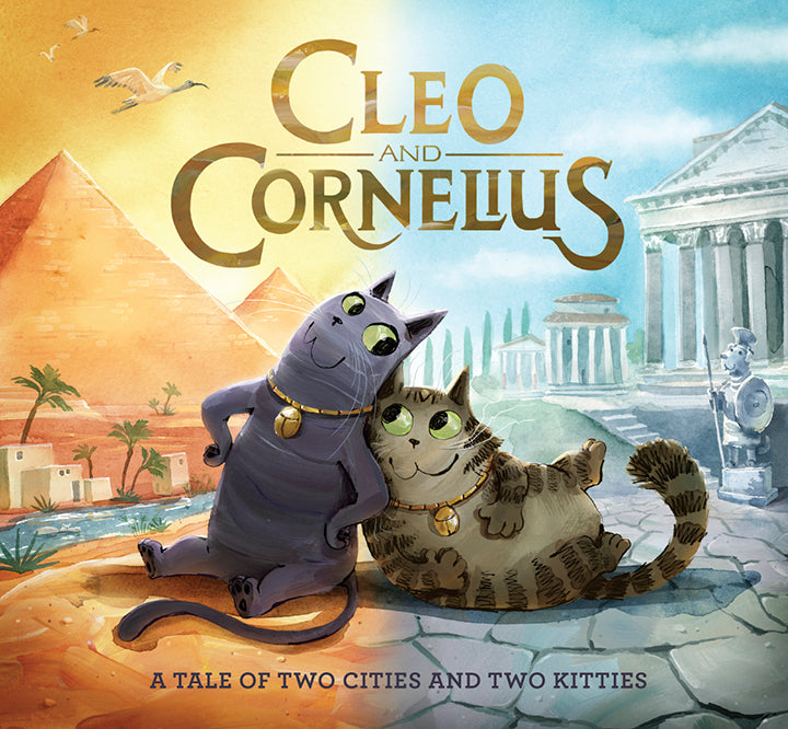 Cleo and Cornelius: A Tale of Two Cities and Two Kitties