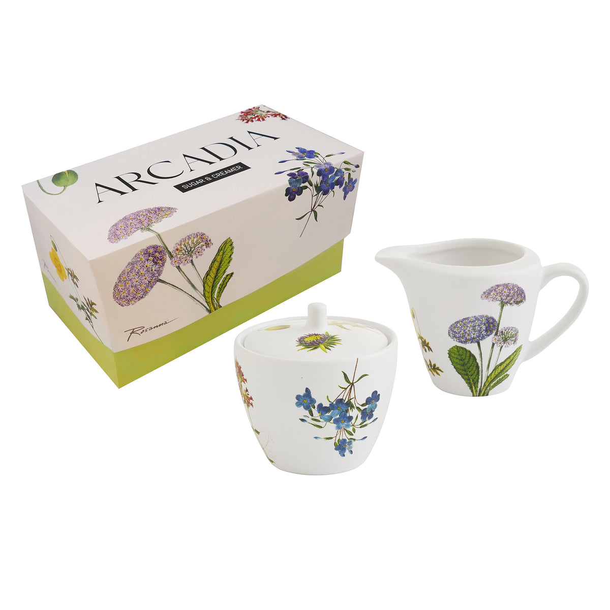 Cream and Sugar Set- Arcadia Floral | Getty Store