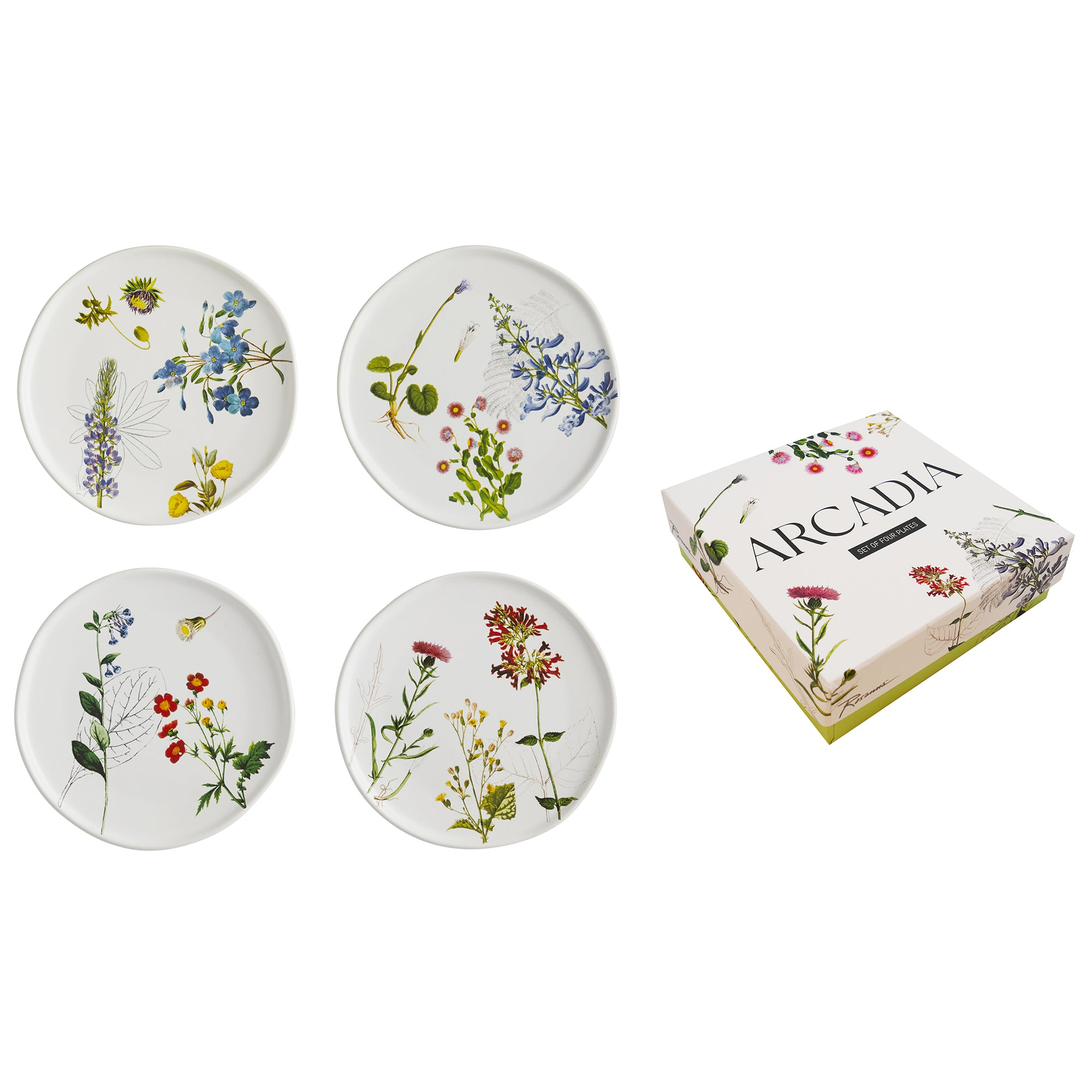 Plate Set- Arcadia Flora | Getty Store