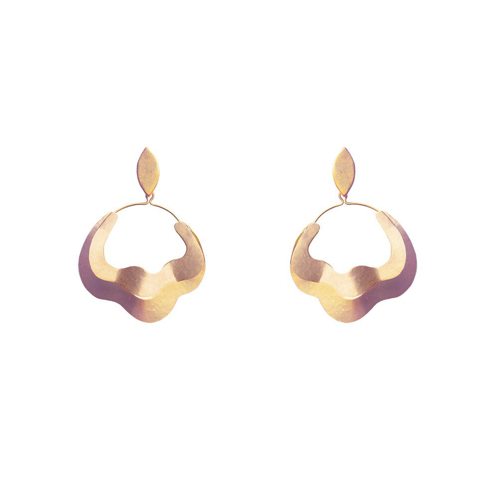 Double Wave Earrings | Getty Store
