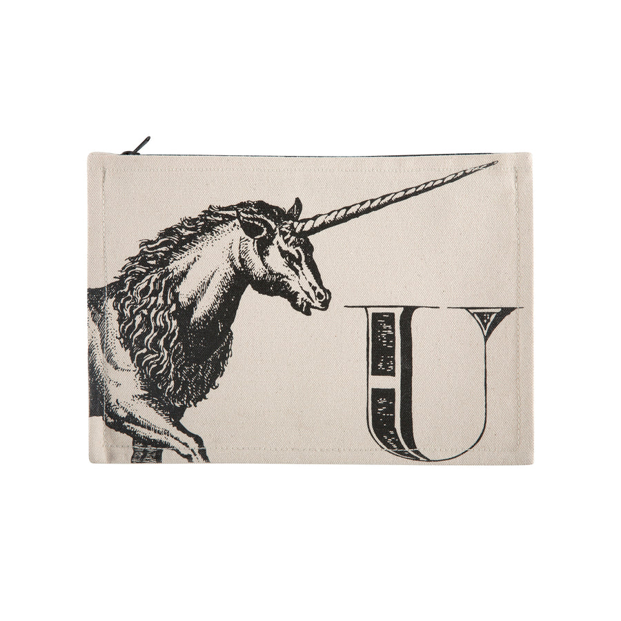Unicorn Zippered Bag