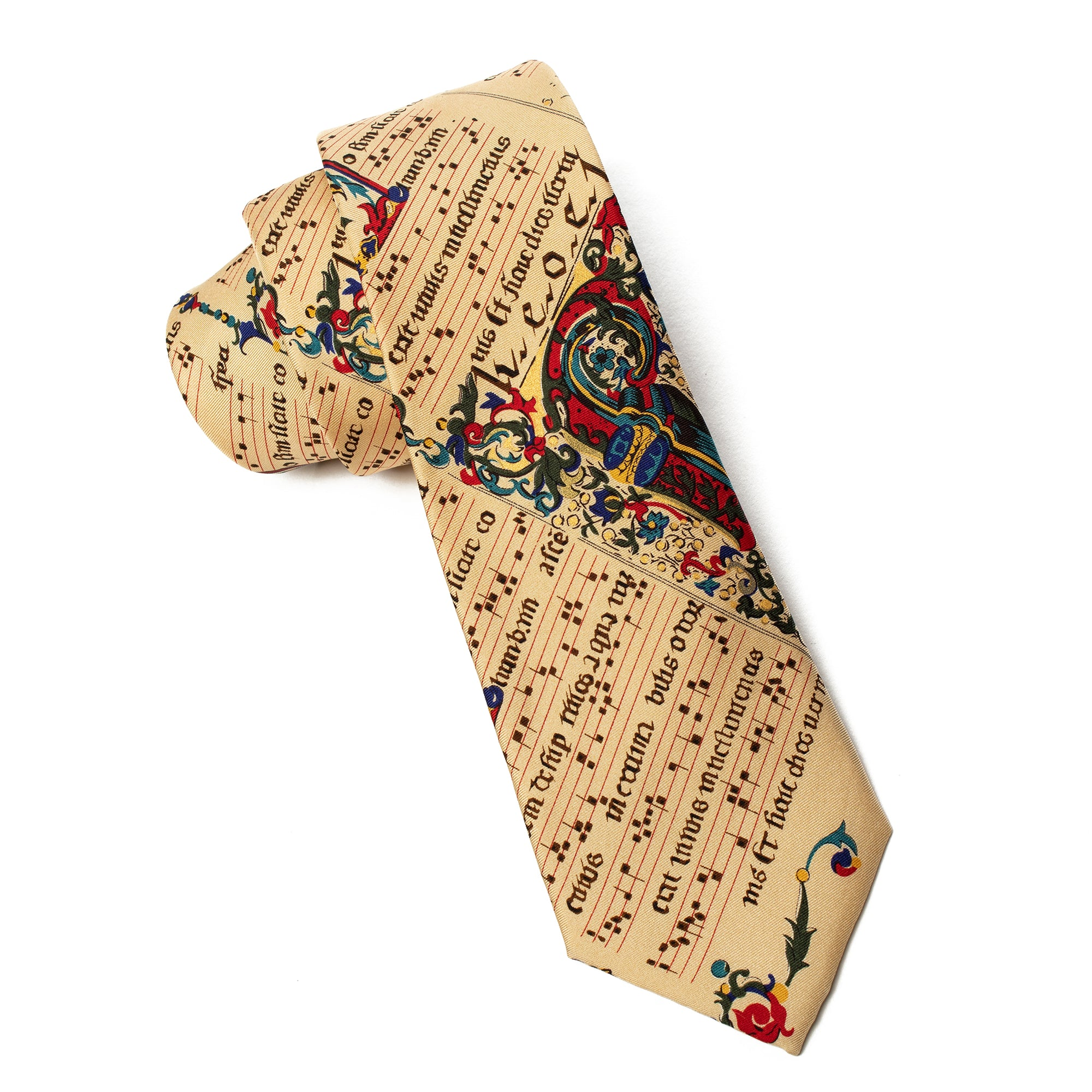 Tie-Illuminated Musical Manuscript | Getty Store