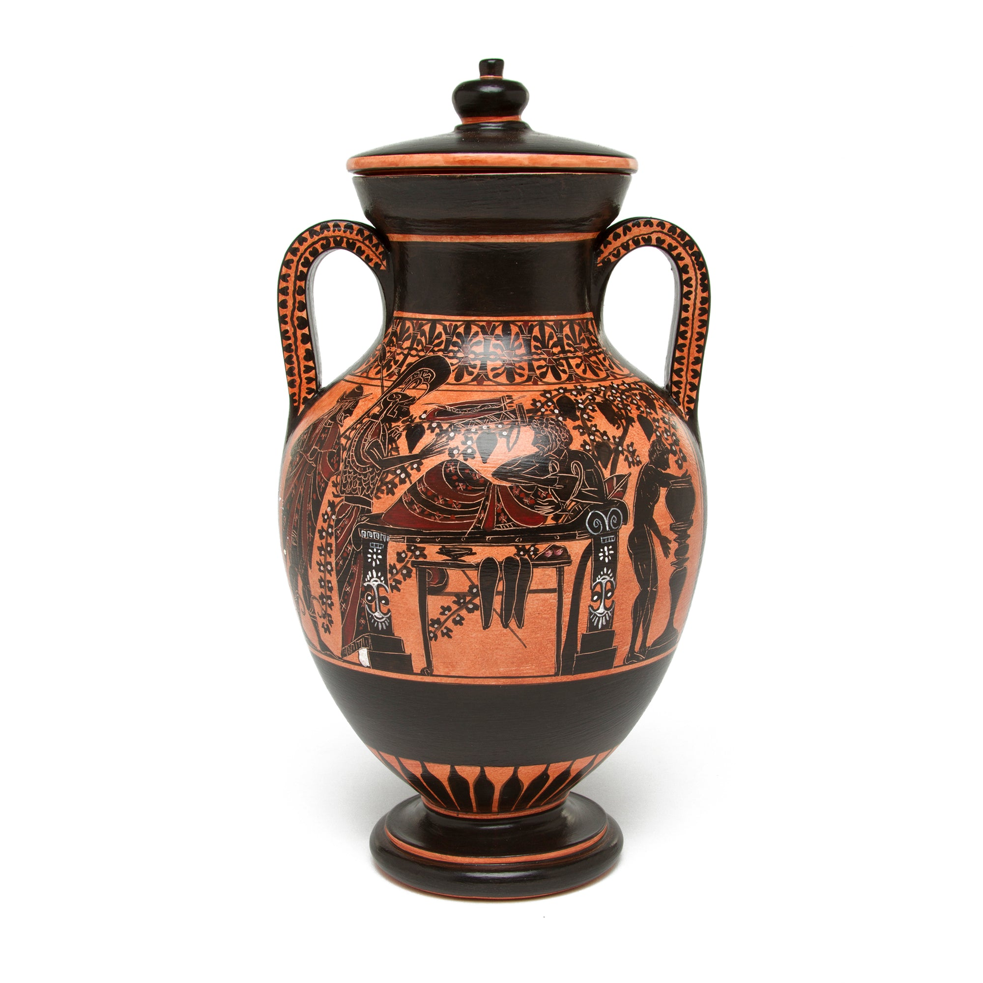 Greek Belly Amphora Vase- Herakles | Getty Store