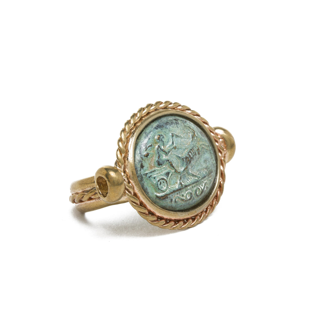 Bronze Cameo Ring