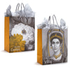 Getty Gift Bag and Tissue- Both sides of bag shown | Getty Store