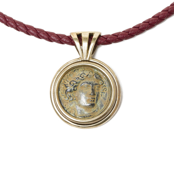 Bronze Coin Replica Necklace