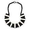 Double Pattern Collar Necklace | Getty Store