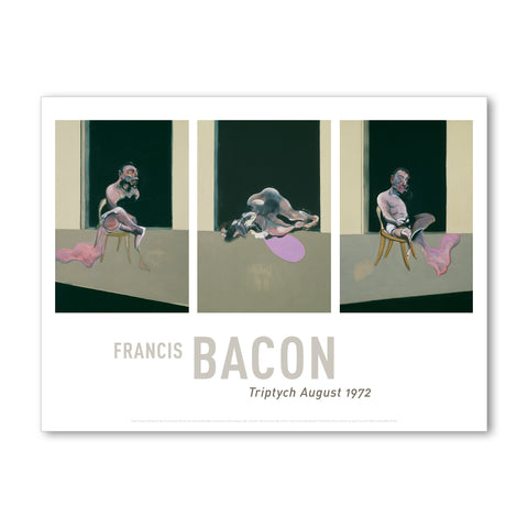 Francis Bacon - <i>Triptych August 1972</i> - Giclée Poster