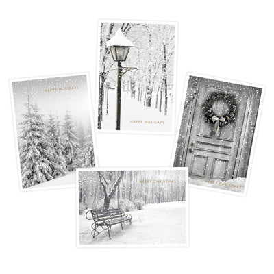 Holiday Boxed Note Cards - Snow Scenes