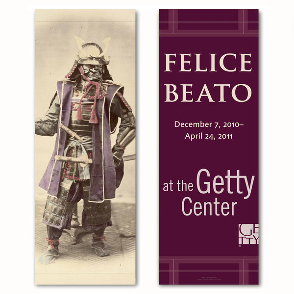 Getty Museum Banner - Felice Beato: A Photographer on the Eastern Road