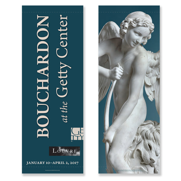 Getty Exhibition Banner - Bouchardon: Royal Artist of the Enlightenment