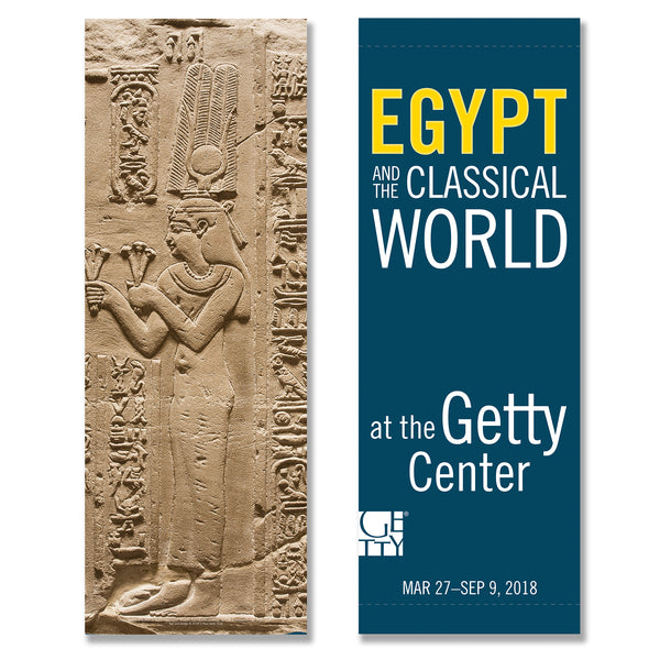Getty Exhibition Banner - Beyond the Nile: Egypt and the Classical World - Cleopatra - Pre-Order