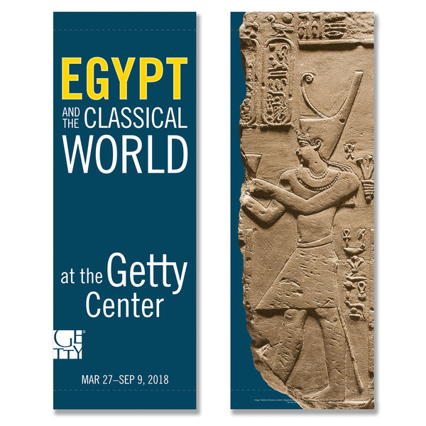 Getty Exhibition Banner - Beyond the Nile: Egypt and the Classical World - Ptolemy - Pre-Order