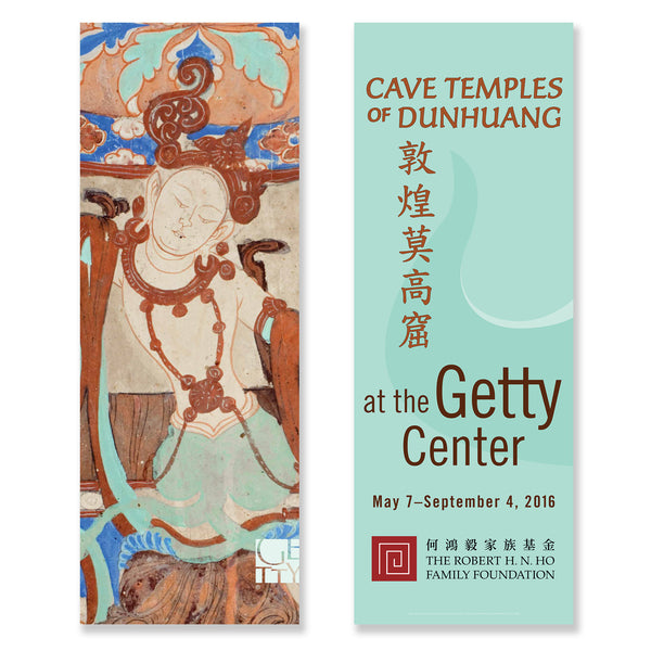 Getty Museum Banner (set of 2) - Cave Temples of Dunhuang