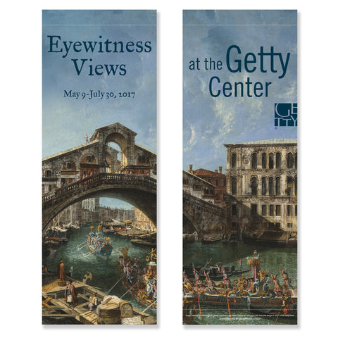 Getty Museum Banner (set of 2) - Eyewitness Views: Making History in Eighteenth-Century Europe (Pre-Order)
