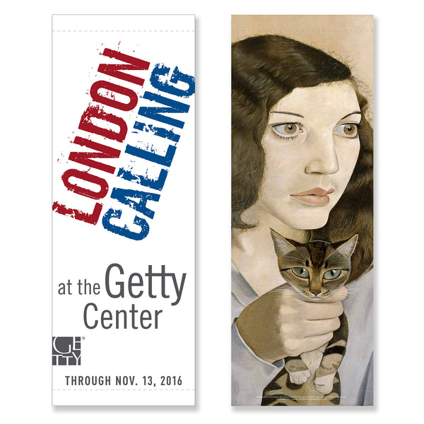 Getty Museum Banner - London Calling: Bacon, Freud, Kossoff, Andrews, Auerbach, and Kitaj