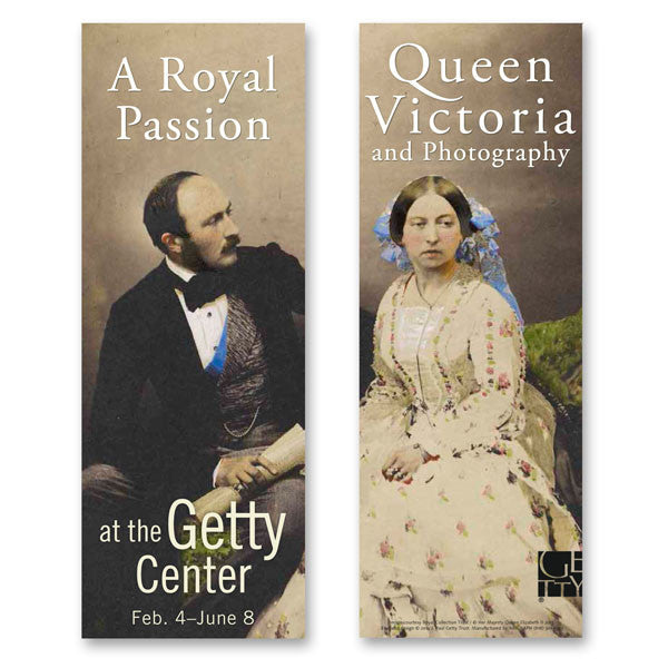 Getty Museum Banner (set of 2) - Queen Victoria and Photography