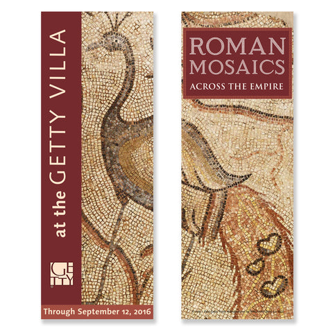 Getty Villa Exhibition Banner - Roman Mosaics Across the Empire