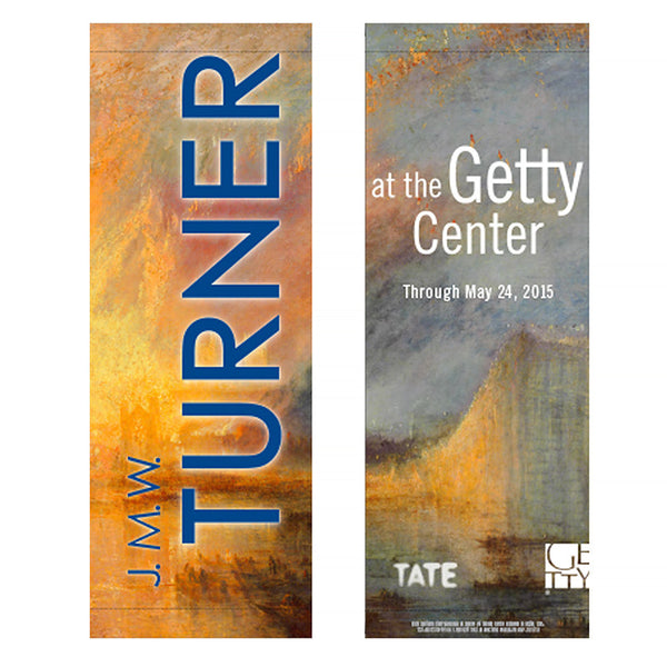 Getty Museum Banner (set of 2) - J.M.W. Turner: Painting Set Free