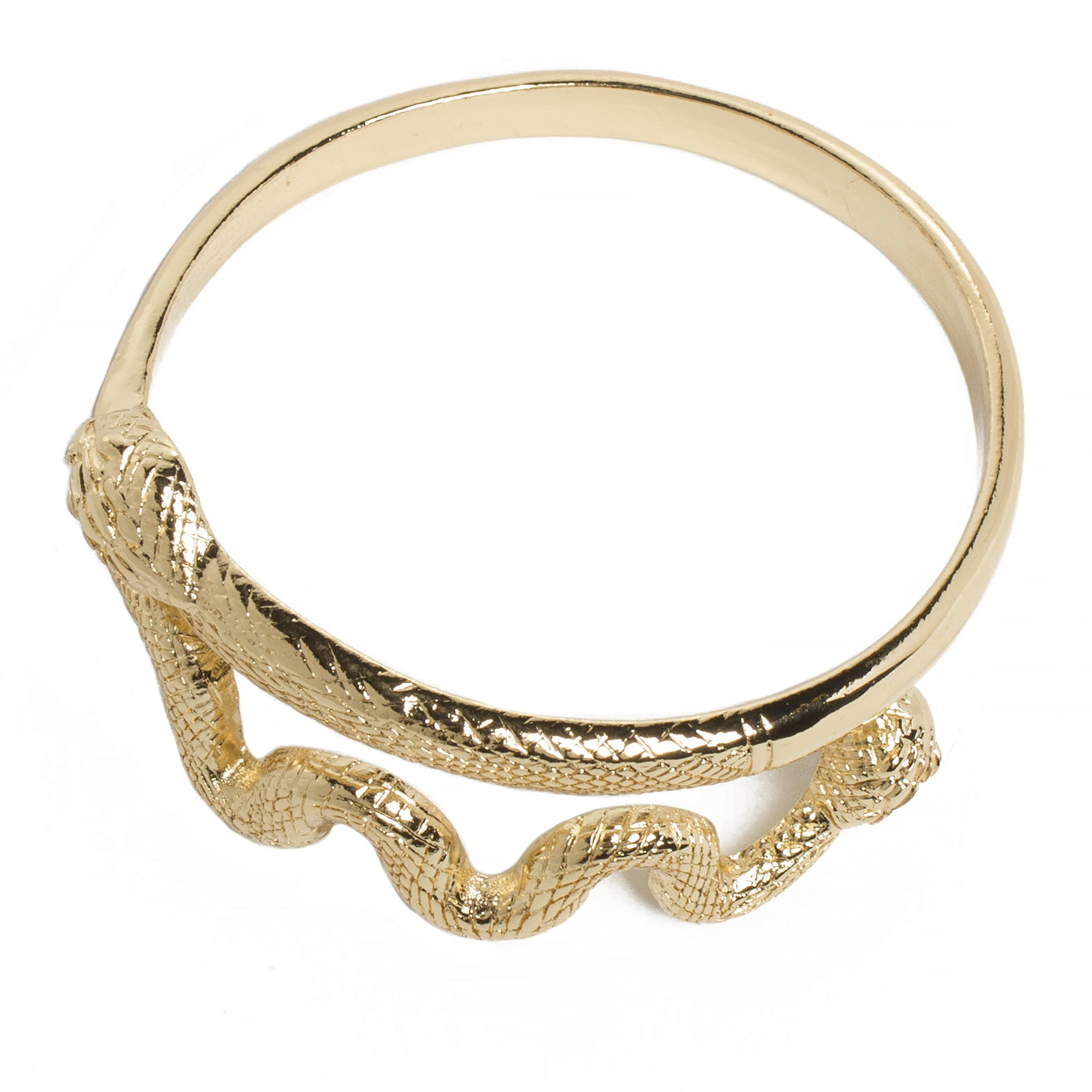 Snake Bracelet- Gold Plated  | Getty Store