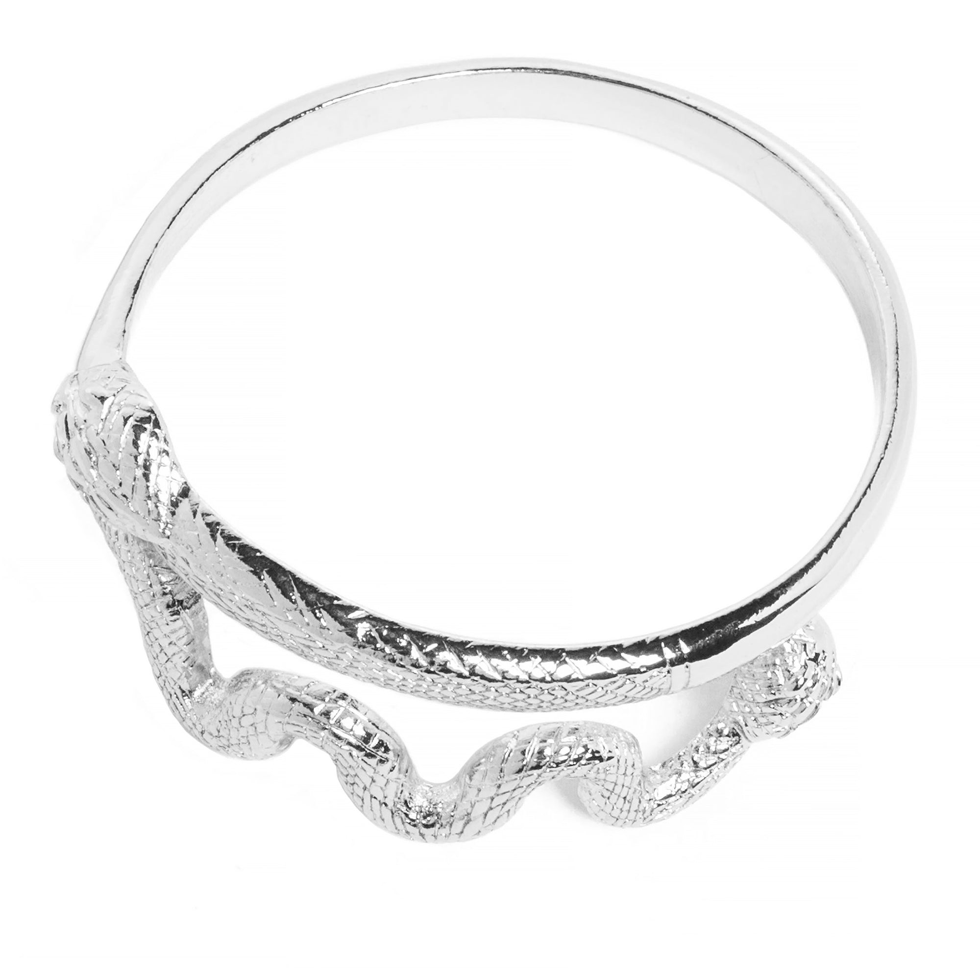 Snake Bracelet- Silver Plated  | Getty Store