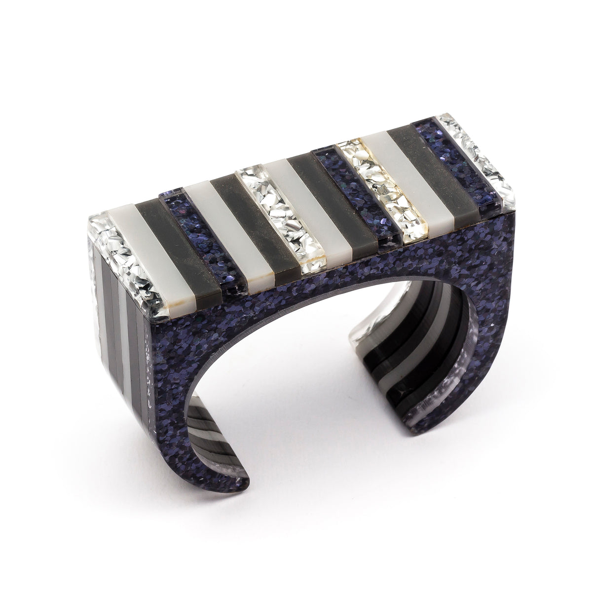 Shimmer Stripe Cuff | Getty Store
