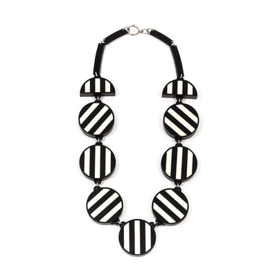 Double Stripe Statement Necklace