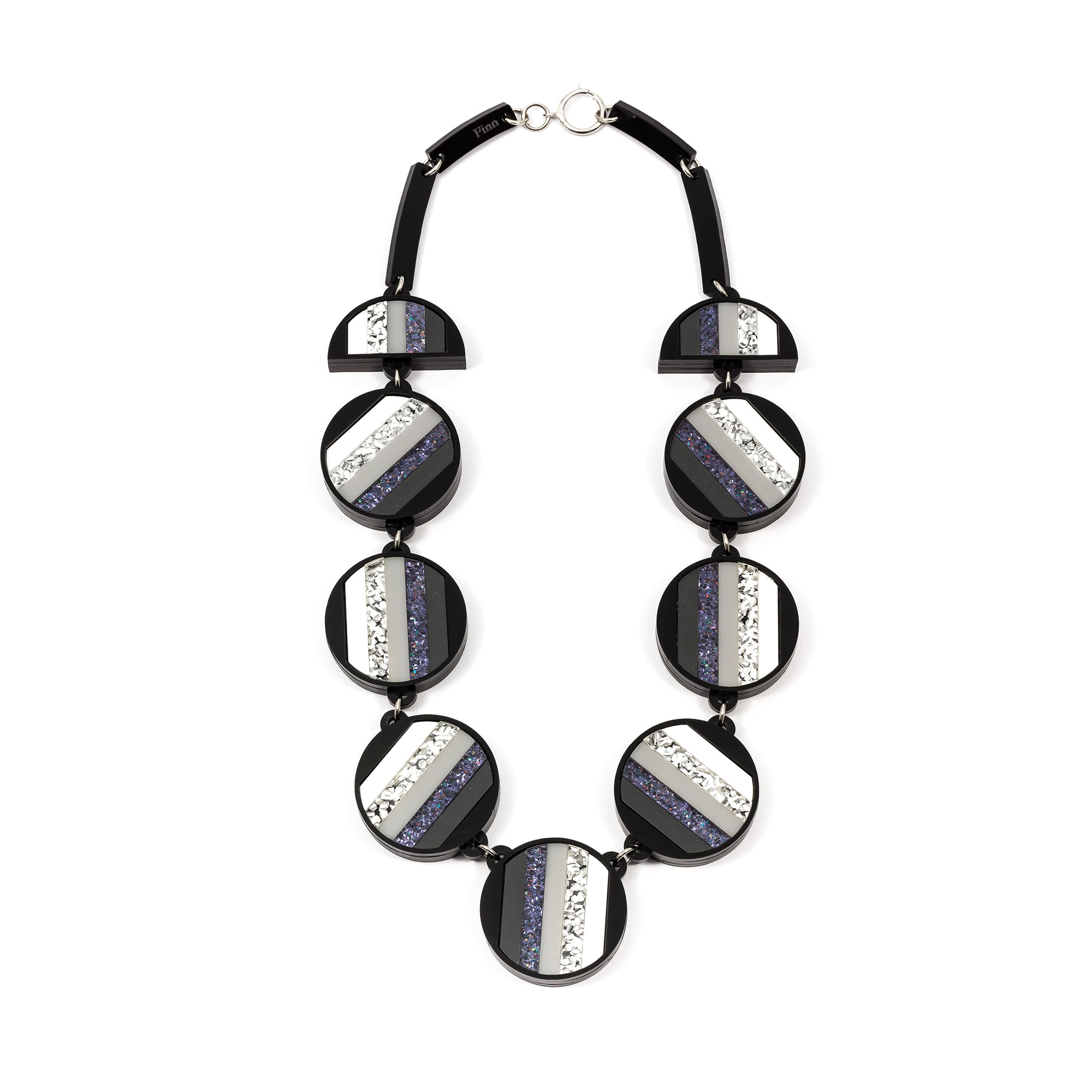 Double Stripe Statement Necklace | Getty Store