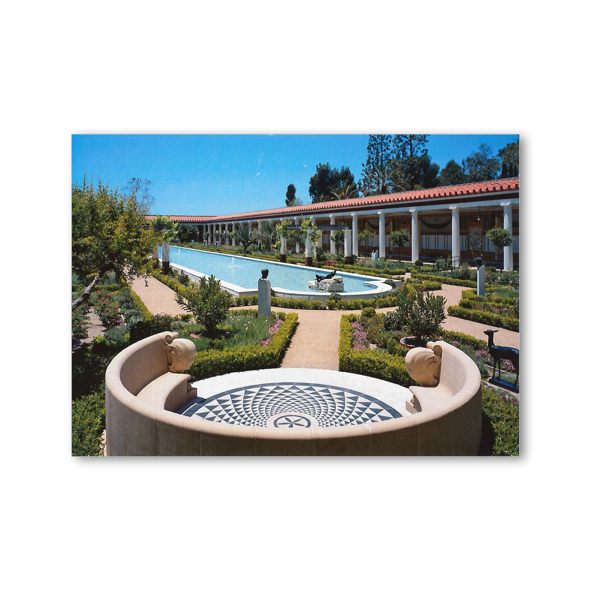 Villa Outer Peristyle Postcard | Getty Store