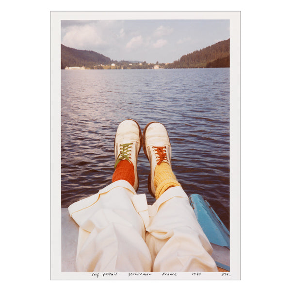 Hockney - <i>Self Portrait, Gerardmer, France</i> - Postcard