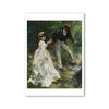 Renior-La Promenade- Postcard  | Getty Store