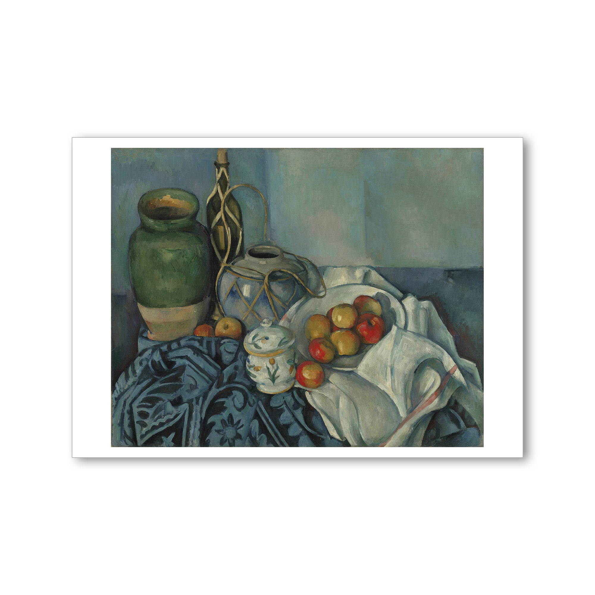 Cezanne Still Life with Apples-Postcard | Getty Store