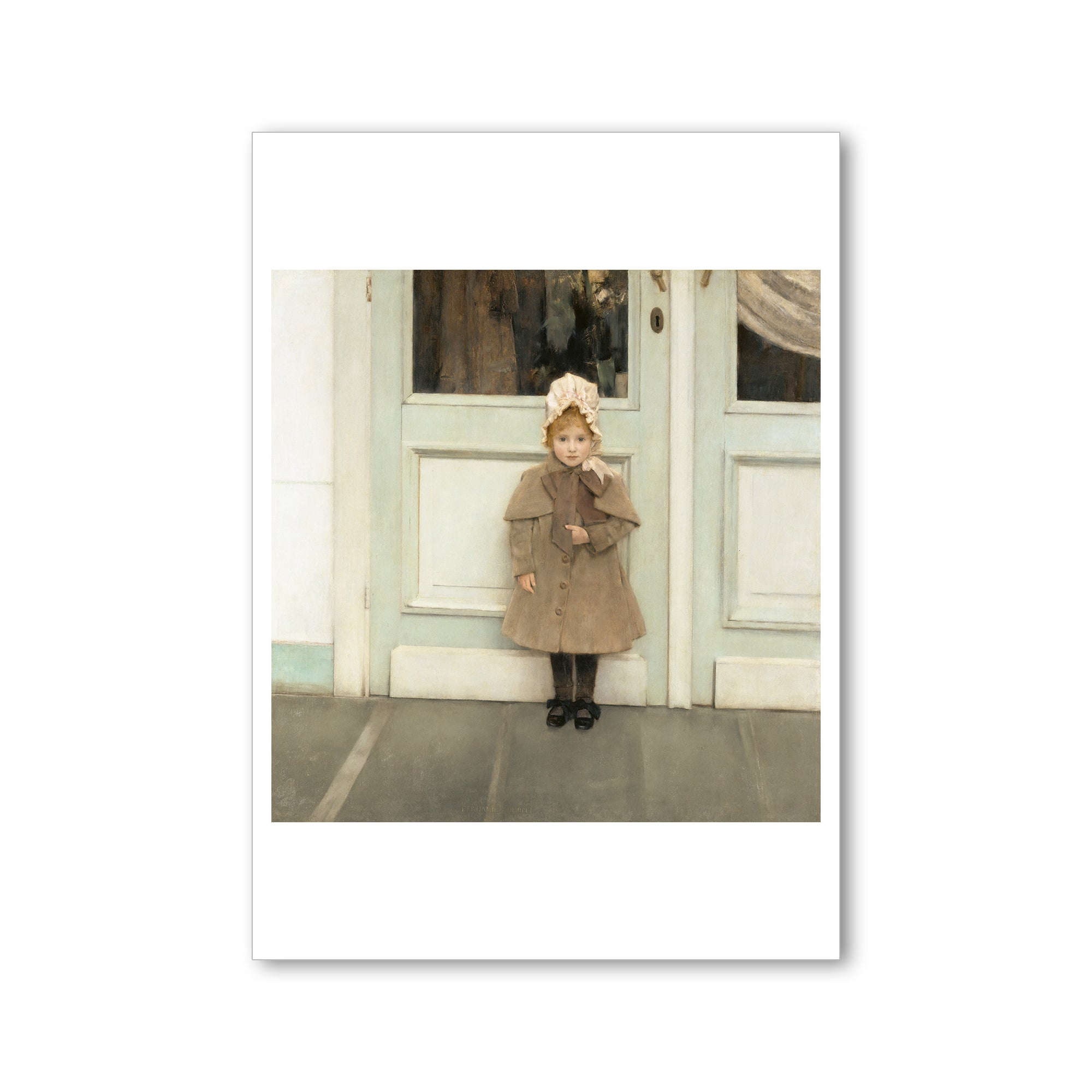 "Khnopff- Jeanne- 5""x7"" Postcard 