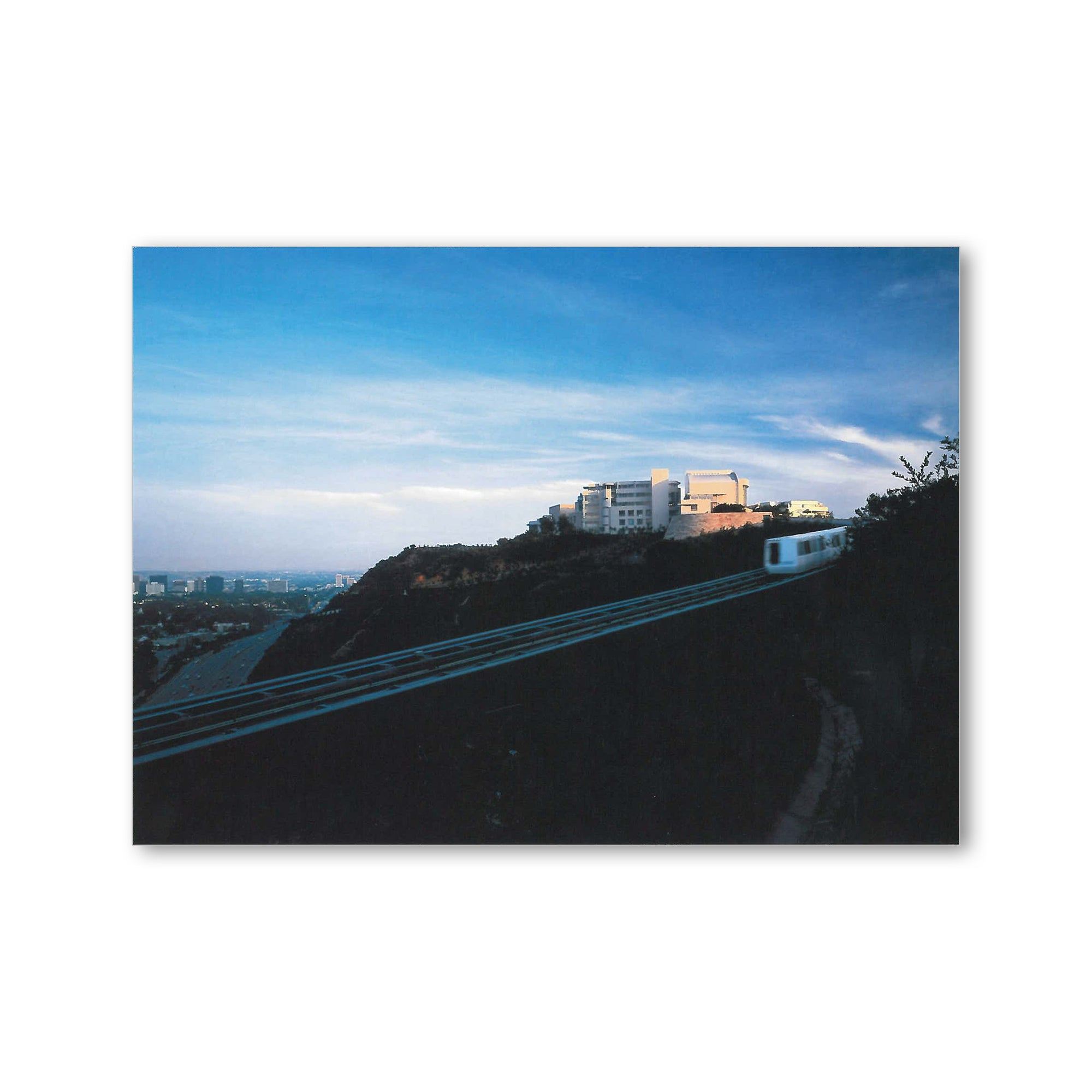 Getty Center Tram Postcard | Getty Store